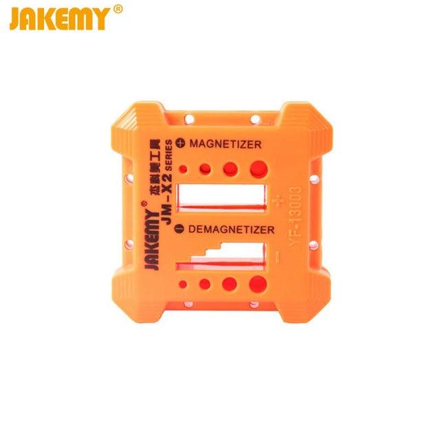 Jakemy JM-X2 Magnetizer Demagnetizer Magnetic Pick Up Tool for Screwdriver Bit Tweezers Small Metal Parts