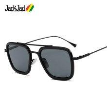 Jackjad óculos de sol unissex, óculos de sol quadrado, aviador, estilo aviador, voo 006