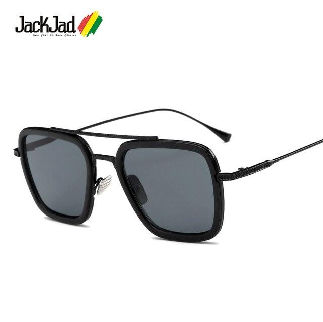 b2eacbfa84b92 006 JackJad Praça de Moda de Nova Estilo O Vôo Da Aviação Óculos De Sol Dos  Homens Das Mulheres Designer De Marca Óculos de Sol Oculos de sol Masculino