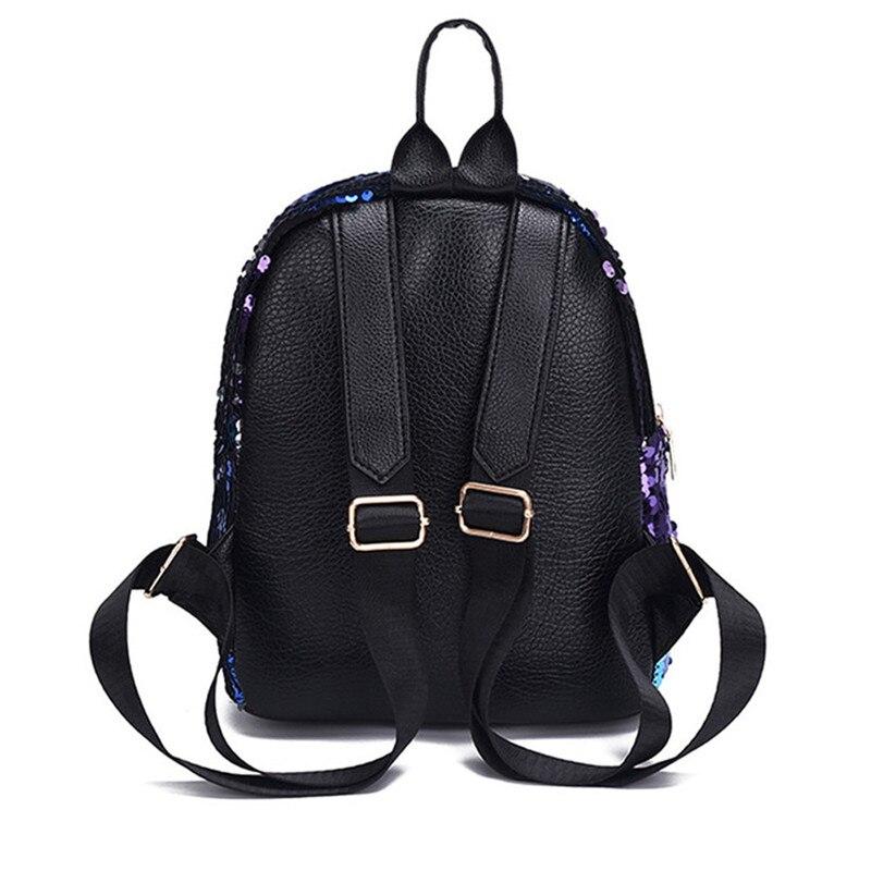sac à dos 2pcs paillettes scintillantes