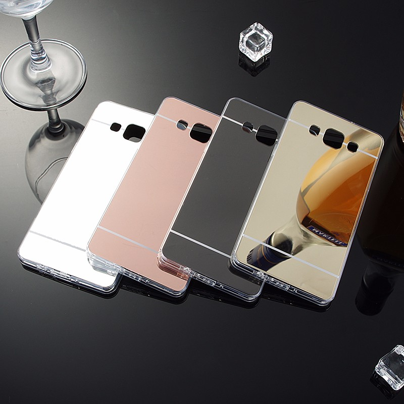 Plating Mirror Samsung Galaxy S9 Case Silicon S8 S7 S6 Edge Plus Soft J1 J3 J5 J7  A3 A7 A5 2017