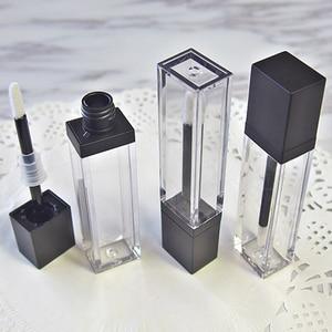 Image 1 - Lápiz labial vacío líquido para maquillaje, tubo de brillo de labios transparente de alta calidad, envase de embalaje, 20 unids/lote, 7ml