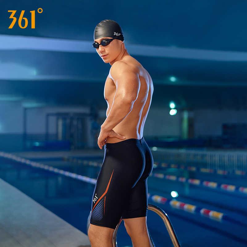 fa919431b2ece3 ... 361 Men Tight Swim Shorts M-3XL Professional Quick Dry Swimming Trunk  for Men 2019