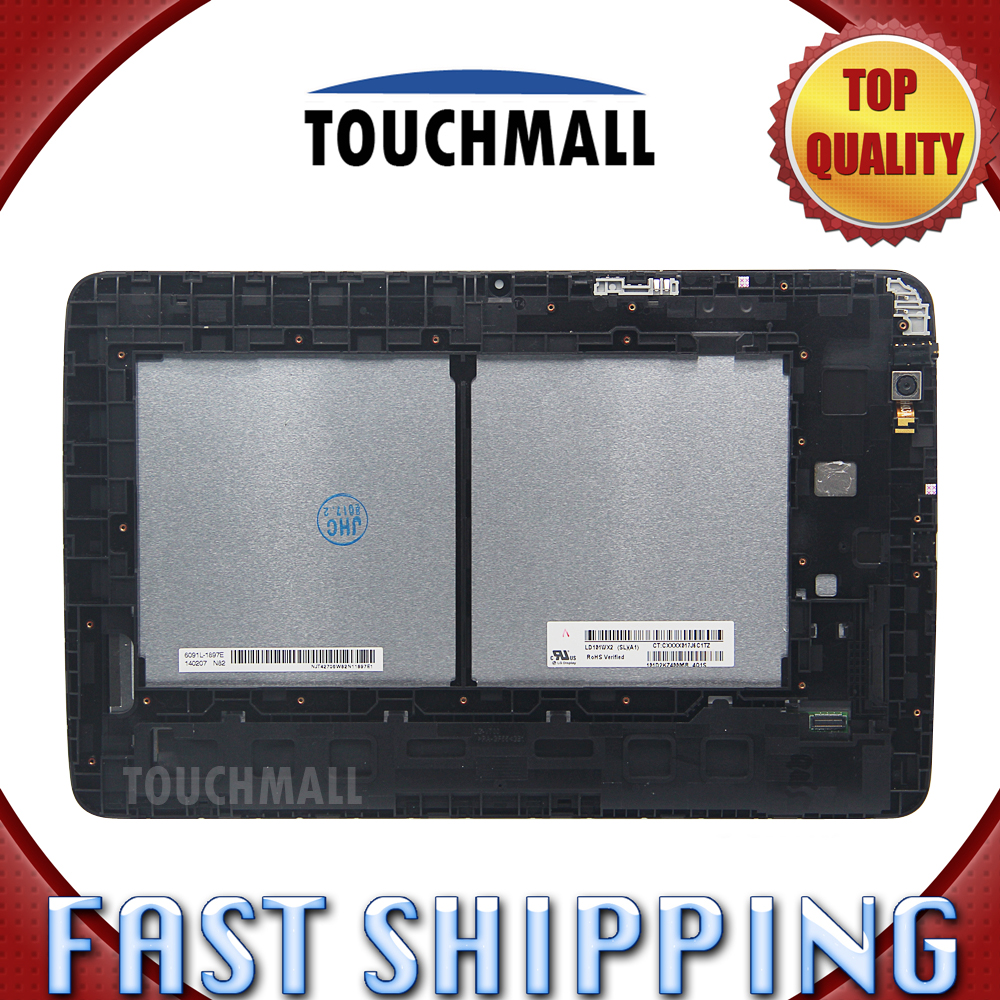 For asus memo pad hd7 me173 me173x k00b lcd for lg edition touch - For New Lcd Display Touch Screen With Frame Assembly Replacement Lg G Pad 10 1 V700 Vk700 10 1 Inch Black Free Shipping