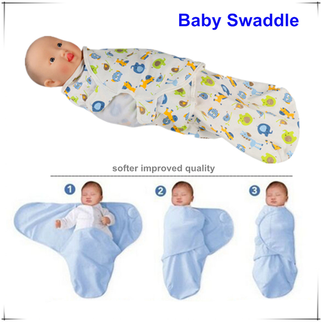 Baby Swaddle Wrap Summer Soft Flannel Blanket Swaddling 100