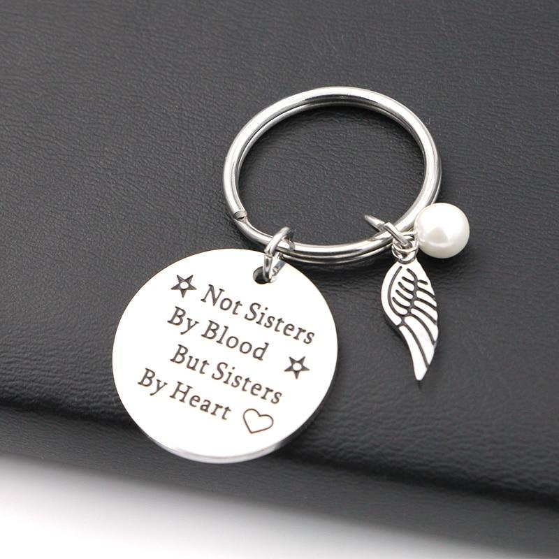 VILLWICE Best friends keychain keyring  1