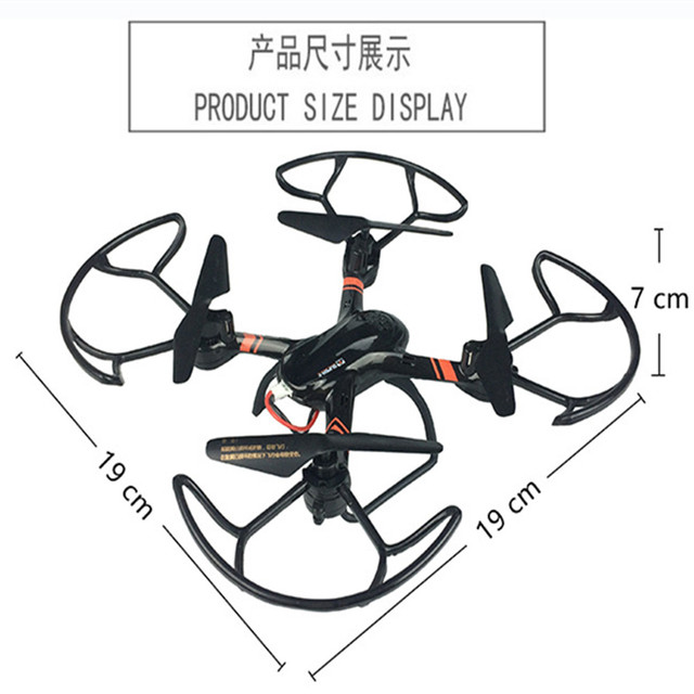 JJRC H12C Headless Mode 3D Flip Fly 2.4G 4 Channel RC Quadcopter Helicopter with Built - in 6 Axis Gyroscope With Camera