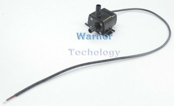 4pcs/ Lot 12V Micro brushless DC submersible pump  Max head 3m Low noise For aquarium, fountain, garden pumping or cooling app.