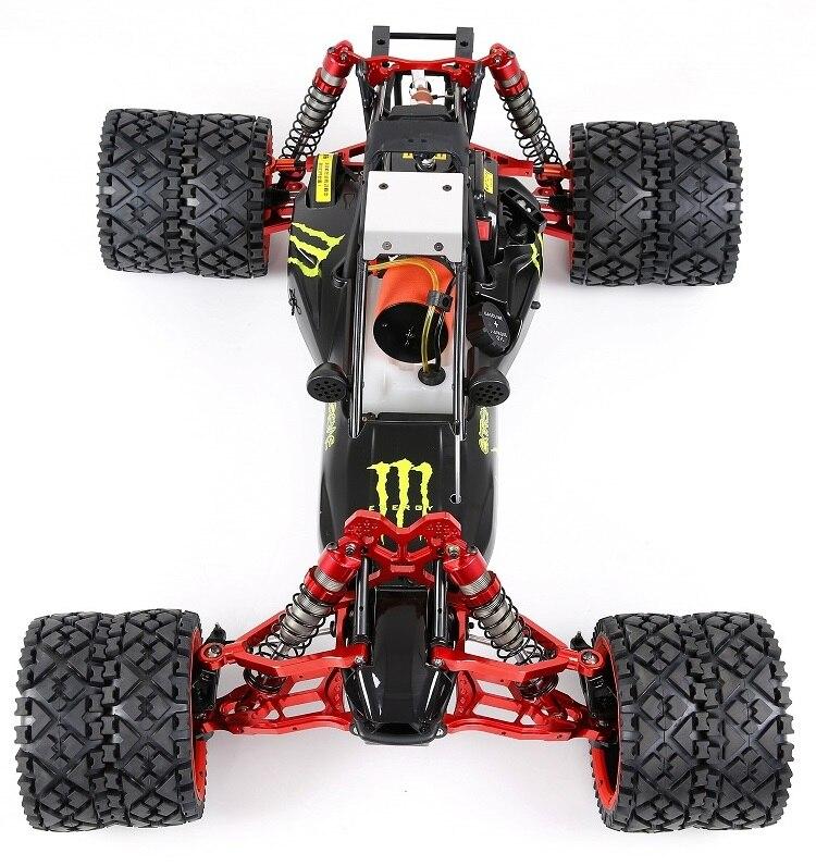 Metal Double Axle 2 Wheel For 1/5 HPI ROVAN KINGMOTOR Baja 5B 5T 5SC SS RC CAR PARTS