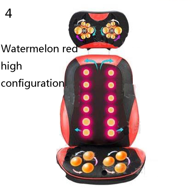 Far Infrared Massage Relieve back fatigue Mattress Cushion Vibration Head Body Foot Massage/Full-Body Massager//110901
