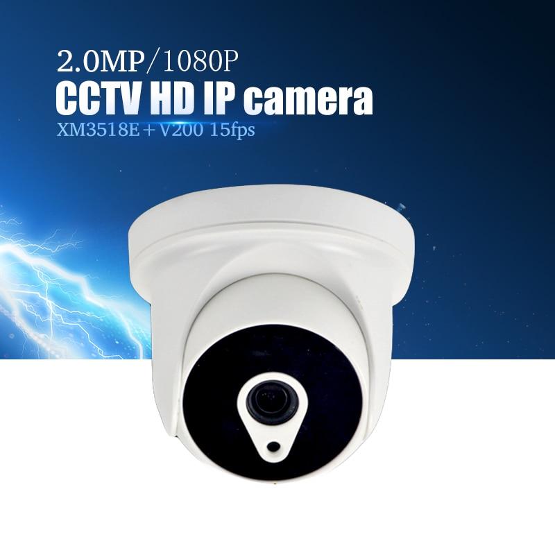 YiiSPO 1080P IP Camera HD 2.0MP indoor IR CUT Night Vision 3.6mm 3518E+V200 XMeye P2P CCTV security camera ONVIF phone view
