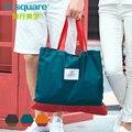 M Square Travel Shopping Bag Women Handbag Men Reusable Folding Bag For Shopping Lightweight Foldable Eco Bag Sac Cabas