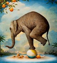 diy diamond painting elephant cross stitch resin stone pasted painting round drill needlework painting full diamond painting
