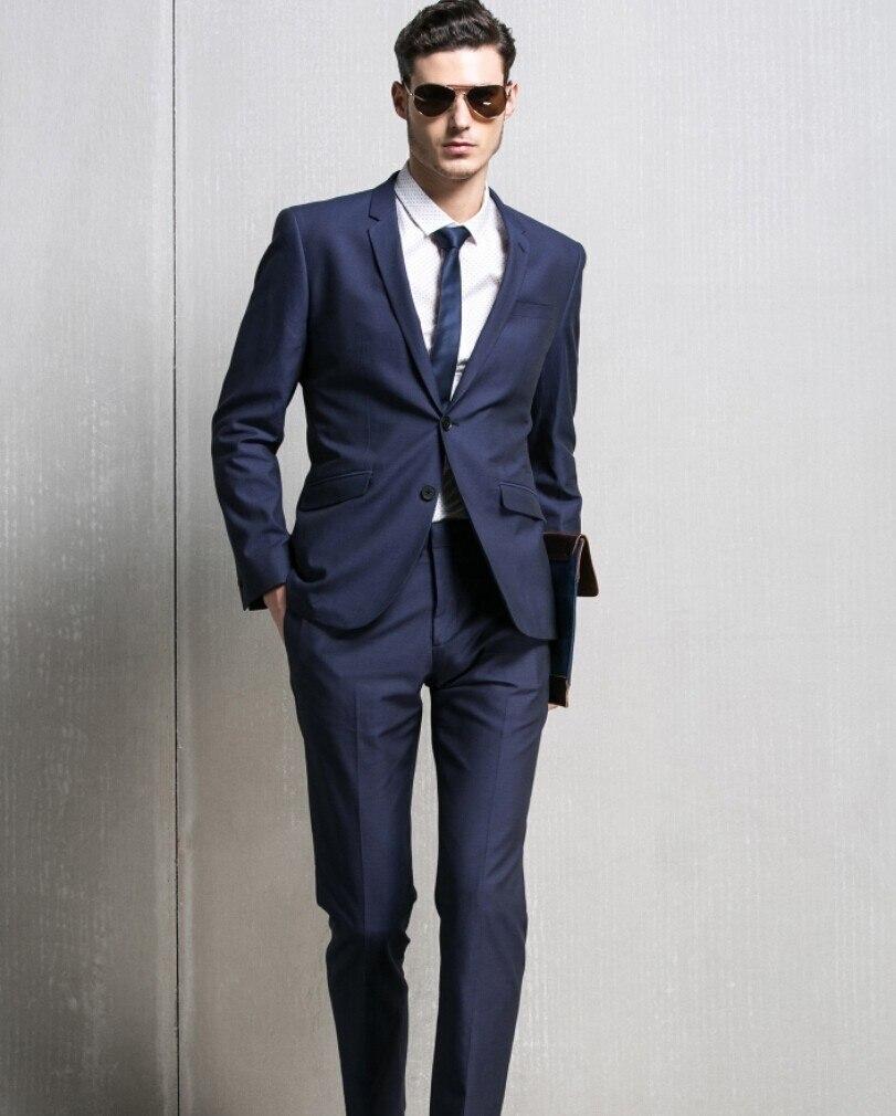 Luxury Brand Groom Suit M 0575 Groomaman Mens Clothing Suite Formal ...