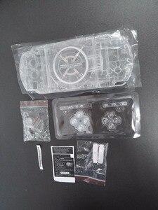 Image 3 - Şeffaf Şeffaf Renk PSP3000 PSP 1000 2000 3000 Kabuk Oyun Konsolu yedek tam konut kapak kılıf düğmeler kiti