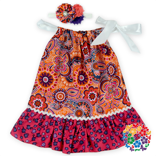 34f245838 Hot Sale Frock Design Baby Girls Dresses Little Girl Baby Cotton ...