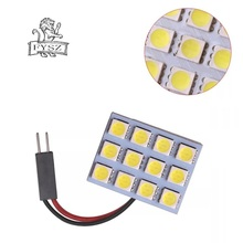 FD50-12W BA9S Festoon 4.5W 6000K 170lm 12-SMD 5050 LED White Car Reading Lamp (12V) carking 6w 750lm 6000k 45 smd 5050 led white car dome lights kit for 12 new fit new city