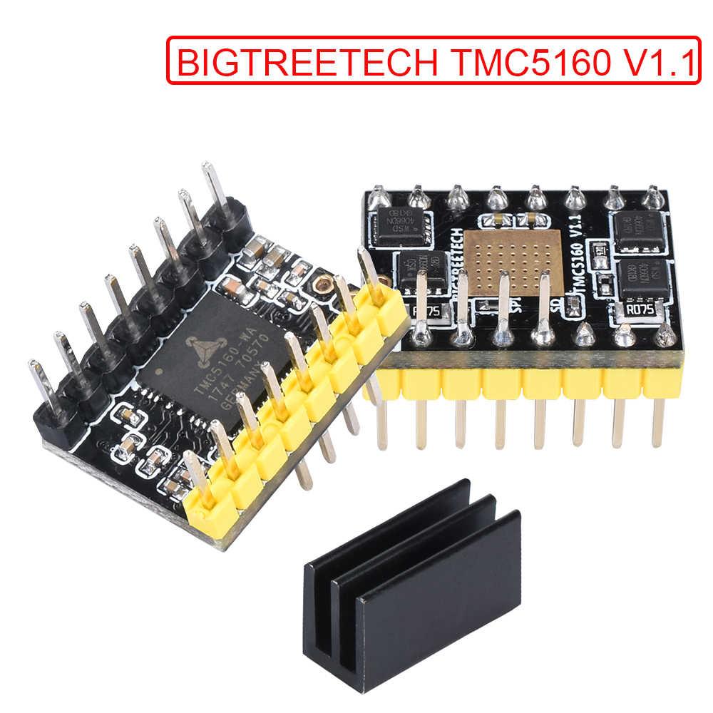 BIGTREETECH TMC5160 V1 1 SPI Stepper Motor Driver TMC2208 TMC2130 3D  Printer Parts SKR V1 3 Reprap MKS GEN L Control Board Ramps