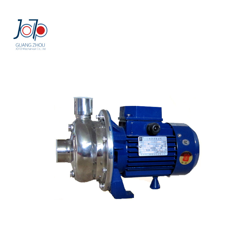 WB120/150D 220V 50Hz Single Phase Electrical Industry Stainless Steel Centrifugal Pump Dishwasher Pump Parts With BSP Connector 1 2hp 220v 50hz single phase small stainless steel centrifugal water pump sanitary pump beverage pump dishwasher pump