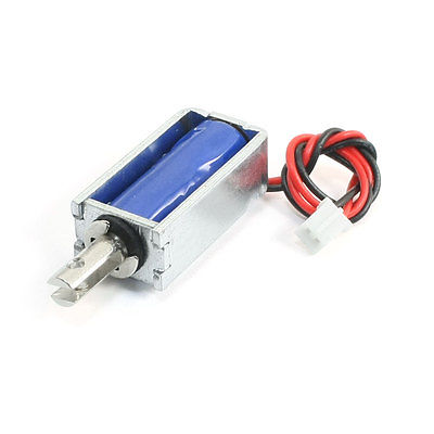 DC 5V 2mm/120g 5mm/25g Open Frame Linear Actuator Electromagnet Solenoid XWJ