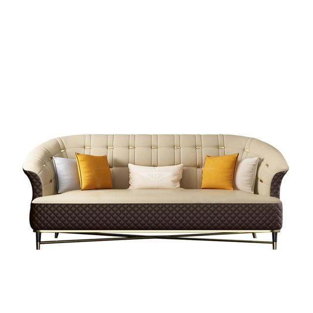 Elegante e venda quente sofá da sala conjunto