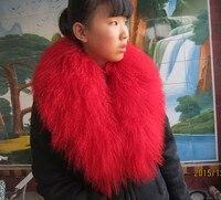 2019 beach wool scarf muffler scarf sub fur collar fur fox fur collar muffler scarf cape raccoon fur collar