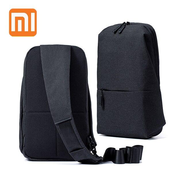 XIAOMI Urbana Fuctional Saco Peito Crossbody para 7 4L polegada Tablet para Homens Mulheres Meninos Meninas Bolsos Funcionais de Grande Capacidade