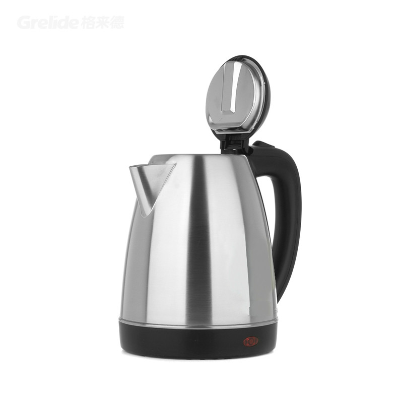hotel electric kettle automatically cut off the 304 steel Safety Auto-Off Function electric kettle the stainless steel automatically cut off the electric with 1 8l