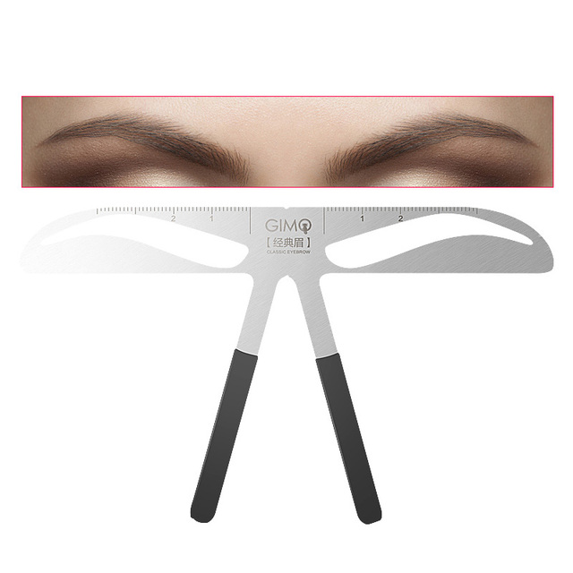 Permanent Makeup Eyebrow Tatoo Shaper Easy To Use Eyebrow Stencil Makeup KIt DIY Template Stencil Shaping lady eyebrowTool