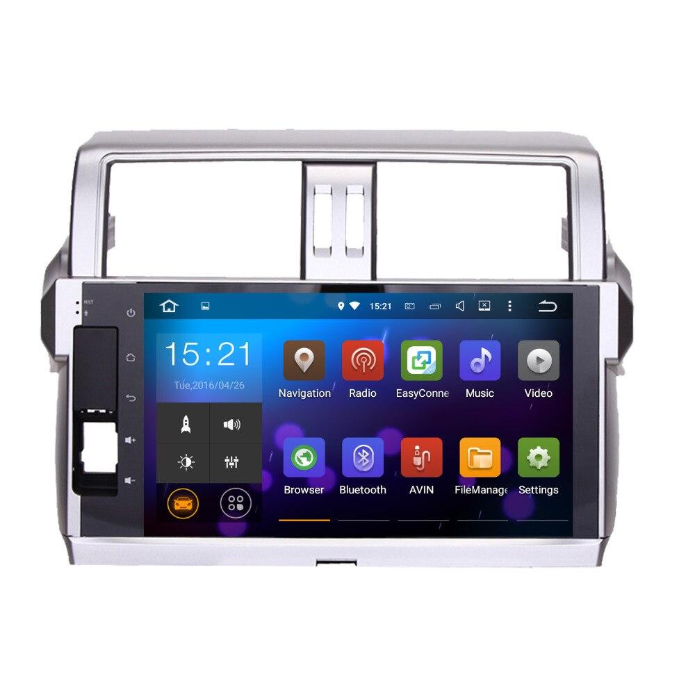 """imágenes para Dasaita 10.2 """"Android 7.1 GPS Del Coche Reproductor de DVD de Navegación para Toyota nueva Prado 150 2014 2015 con 2G + 16G Quad Core Estéreo Multimedia HDMI"""