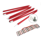 2pcs/set Hot Outdoor Camping Tent Pole Aluminum Alloy Tent Rod Spare Replacement Tent Support Poles Tent Suppor Rod Accessories