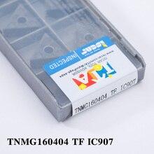 Фотография 10PCS / Set TNMG160404 TF IC907 Turning Tool Tungsten Shop Boring Bar Porta Insertos Woodworking Drop Toolholder Wholesale