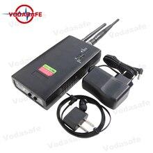 Detector de celular gsm/3g, detector de bug e espião com faixa versátil e ampla frequência