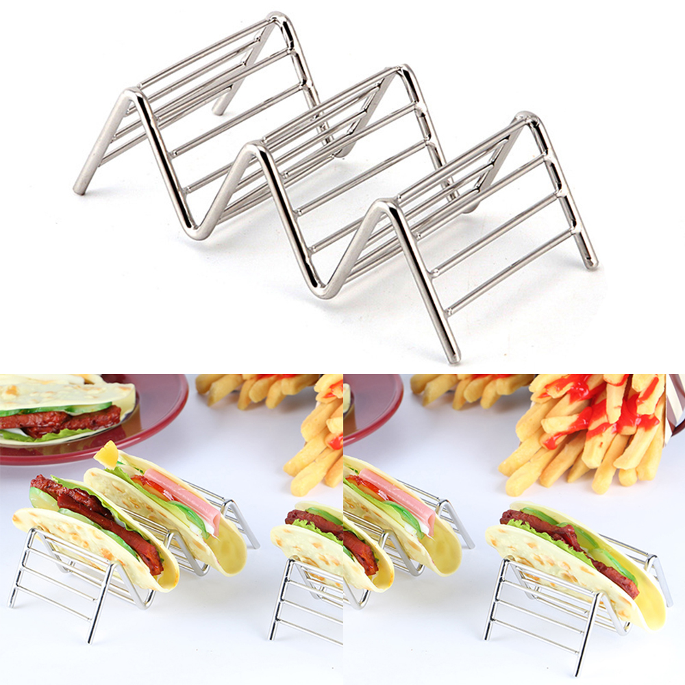 New Eco Friendly Kitchen Supplies Stainless Steel Kitchen Wave Shape  Display Holders Food Rack Shell Top Quality Food Rack In Storage Holders U0026  Racks From ...