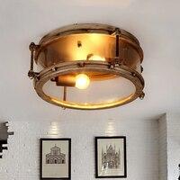 Современные светодиодный Потолочные светильники гостиной потолочный светильник cafe светильники Ресторан освещения Промышленных Ретро Лоф