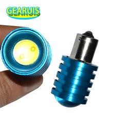 1 pçs vendas quentes 1156 1157 p21w p21/5w cob led 1.5w lente estacionamento reverso backup luz lâmpada do carro branco azul vermelho amarelo 12v