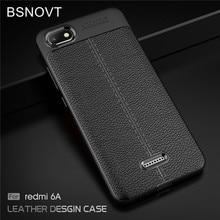 sFor Xiaomi Redmi 6A Case For Redmi 6A Soft PU Leather Anti-knock Bumper Case For Xiaomi Redmi 6A Case For Redmi 6A Cover BSNOVT все цены