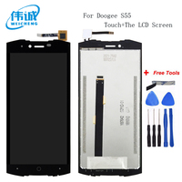 WEICHENG For Doogee S55 LCD Display+Touch Screen Assembly Repair Part 5.5 inch Phone Accessories For Doogee S55 Cellphone Part
