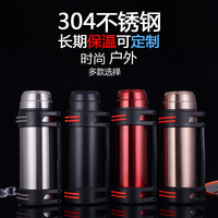 Free Custom 2018 New Outdoor Mountaineering Sport Kettle Travel Cup Car Vacuum Flasks 304 Stainless Steel Thermos Water Bottle