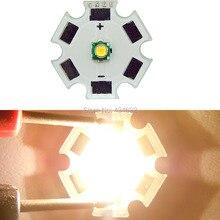 100 шт. CREE XP-G XPG 1-5 Вт белый 6300-6500 к теплый белый 3000-3200 к 3,2-3,6 В светодиодный излучатель свет лампы для самодельные фонари факел