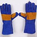 Новинка 2020 сварочные двухслойные огнеупорные сварочные перчатки кожаные перчатки противопожарные перчатки термостойкие износостойкие