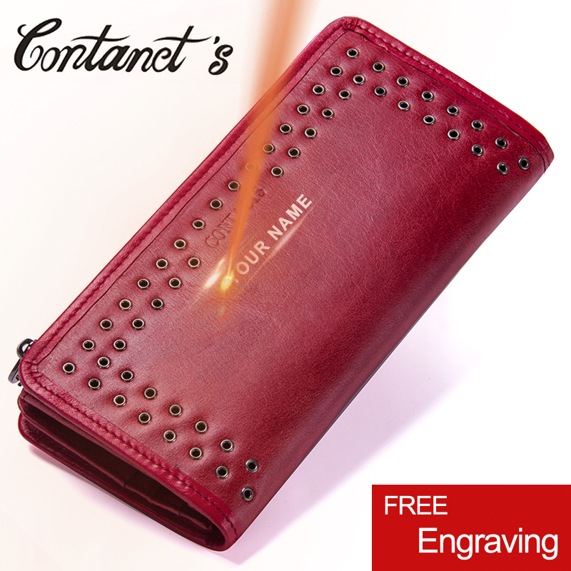 Women Leather Wallet Clutch Long Zip Coin Pocket Luxury Brand Phone Holder Bag Famous Designer Purses And Handbags 2018 Fashion