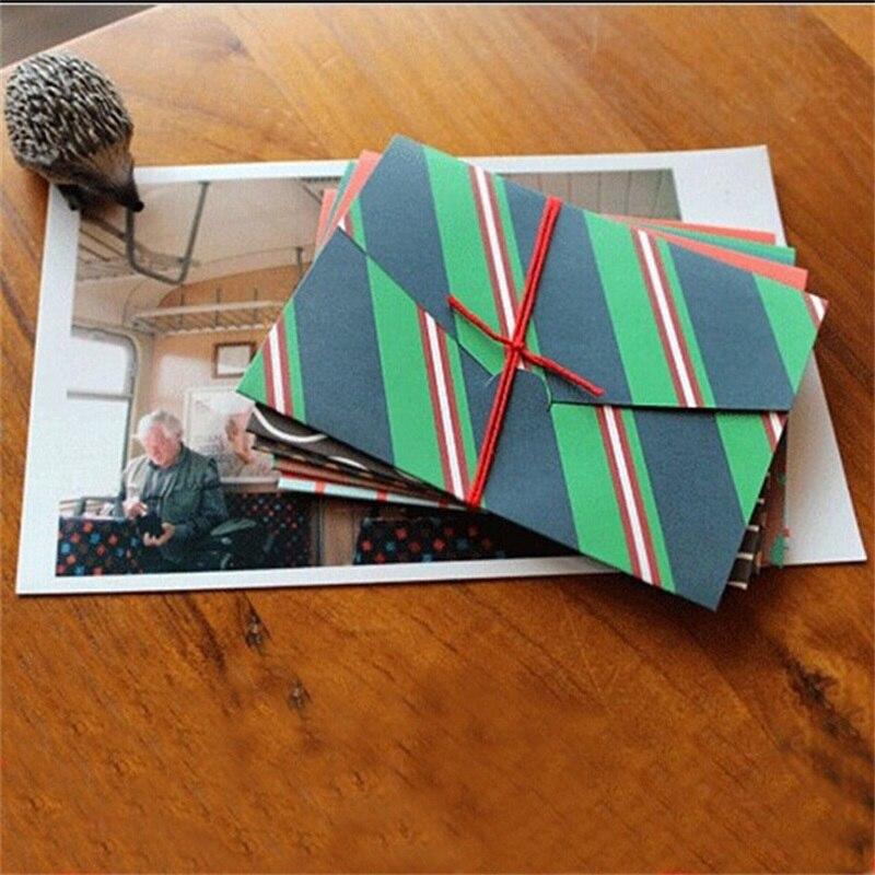 6 Pcs/set Creative Mini Designs Paper Envelopes Vintage Black European Style For Card Scrapbooking Gift Letter Free Shipping