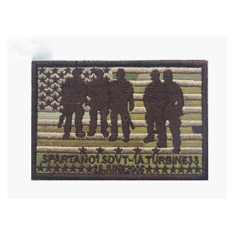 30 PCS/LOT Nswdg Devgru Seal Operation Red Wings Lone Survivor Embroidery Patch Badges Fabric Armband Sticker Military