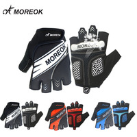 Reflective Night Running Bicycle Riding Half Knee Glove Outdoor Sporting Goods Equipped With Short Gloves
