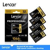 LEXAR original 1066X cartao de memoria CF card micro sd card 256GB 128GB memory card 64GB 32GB Class10 free shipping