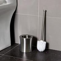 Creative toilet brush stainless steel toilet long handle cleaning brush toilet toilet brush base set wx8171809