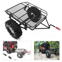 Metal RC Trailer Hopper Frame Simulation For 1/10 Rock Crawler Truck Trail Traxxas TRX 4 TRX4 Axial SCX10 RC4WD D90 CC01