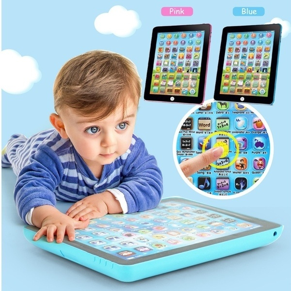 Language Learning Machine Alphabet Baby Tablet Educational Toy For Kid Electronic Touch Tablet Computer Gift Toy Kids Tablet