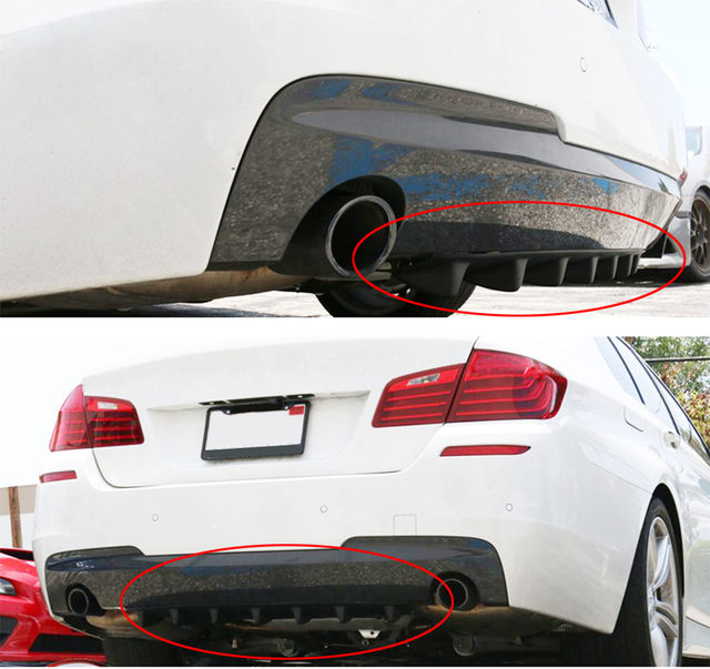 3d Auto Aufkleber Sharp Fin Chassis Deflektor Stoßstange Lustige Außen Wind Net Umrüstung 35 58 85 Jdm Aufkleber